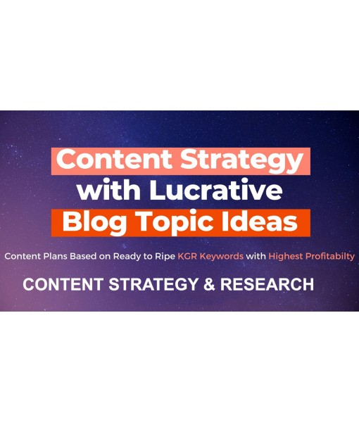 Content Strategy & Research
